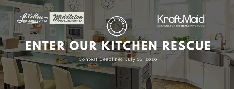 Kitchen Rescue with KraftMaid 2020