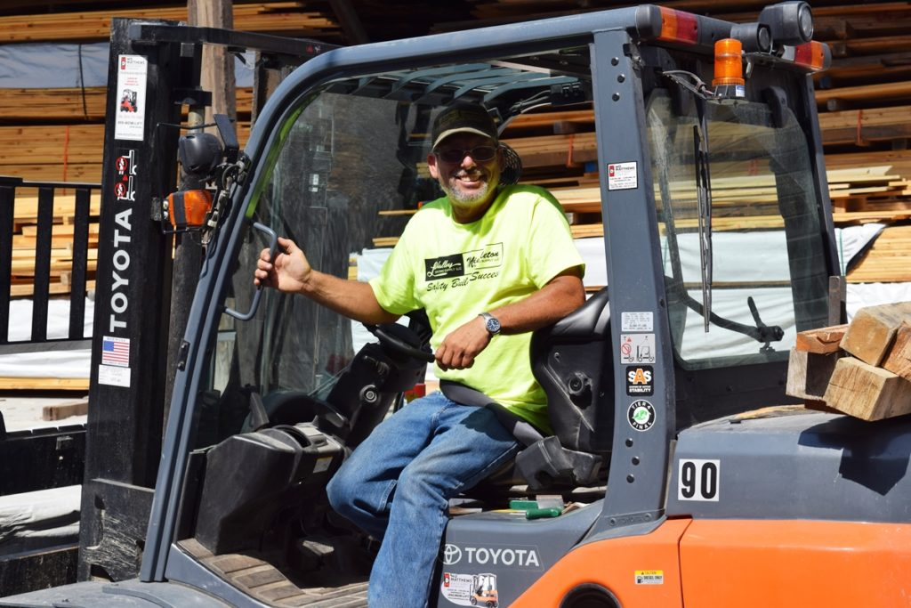 LaValleys Lumberyard NH VT Forklift Careers