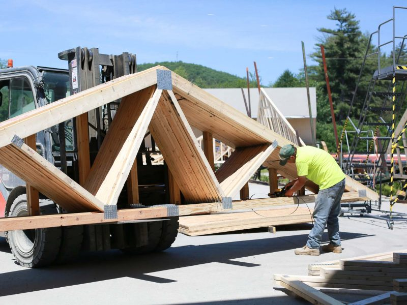 Roof Trusses NH VT New Hampshire Vermont