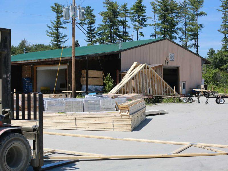 Trusses NH VT New Hampshire Vermont